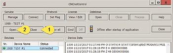 Reload device INI file