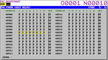 Fanuc 31i Model B Keep Relay (7) output