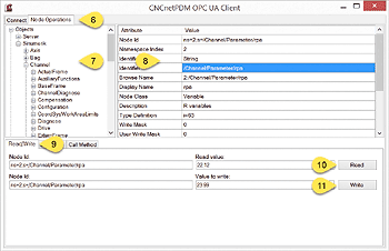 Read/Write from/to OPC UA Server