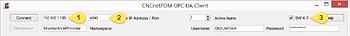 Connect CNCnetPDM OPC UA Simple Client