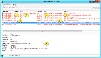 Sinumerik 840D OPC A&E Client