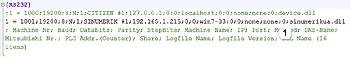 FIG 1:Configure Sinumerik OPC UA device driver in CNCnetPDM.ini