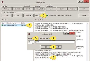 Write data to Sinumerik 840D or 828D controller