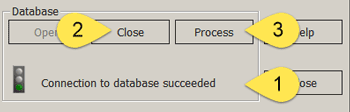 Close / open database connection (CNCnetControl)