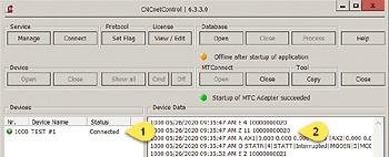 GUI CNCnetControl