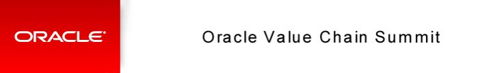 CNCnetPDM at the Oracle Value Chain Summit | Presentations | Company | inventcom